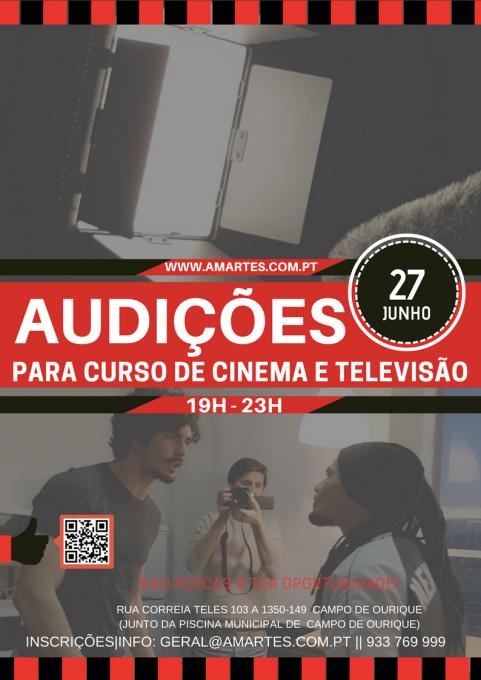 AUDIÇÕES CINEMA _ TELEVISÃO_Curso 3 anos